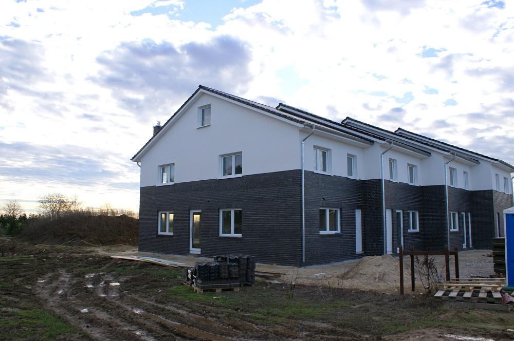 Neubau eines Reihenendhauses in ruhiger Lage